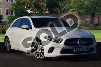 Mercedes-Benz A Class Diesel A180d Sport 5dr Auto in polar white at Mercedes-Benz of Lincoln
