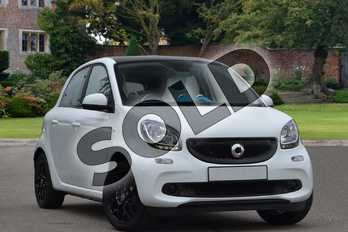 Smart Forfour Hatchback 1.0 Proxy 5dr in white at smart at Mercedes-Benz of Lincoln