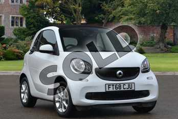 Smart Fortwo Coupe 1.0 Passion 2dr in white at smart at Mercedes-Benz of Lincoln