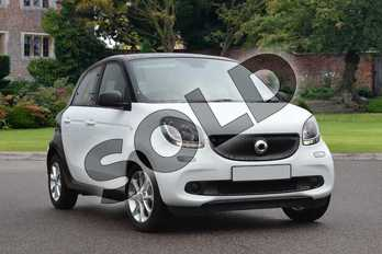 Smart Forfour Hatchback 1.0 Passion 5dr in white at smart at Mercedes-Benz of Lincoln