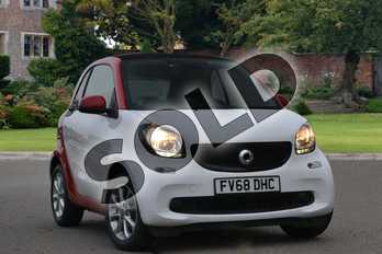 Smart Fortwo Coupe 1.0 Passion 2dr Auto in white at smart at Mercedes-Benz of Lincoln