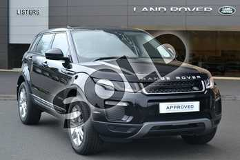 Range Rover Evoque Diesel 2.0 TD4 SE Tech 5dr Auto in Santorini Black at Listers Land Rover Hereford