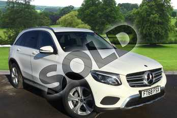 Mercedes-Benz GLC Diesel GLC 220d 4Matic Sport 5dr 9G-Tronic in polar white at Mercedes-Benz of Grimsby