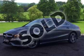 Mercedes-Benz CLA Class CLA 180 AMG Line 4dr Tip Auto in mountain grey metallic at Mercedes-Benz of Grimsby