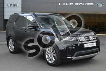 Land Rover Discovery Diesel SW 2.0 SD4 HSE 5dr Auto in Narvik Black at Listers Land Rover Droitwich