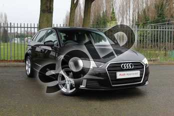 Audi A3 35 TFSI Sport 5dr in Myth Black Metallic at Coventry Audi