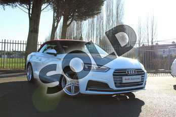 Audi A5 2.0 TFSI S Line 2dr in Ibis White at Coventry Audi