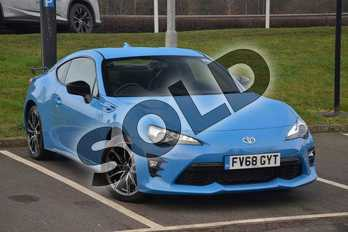 Toyota GT86 Special Edition 2.0 D-4S Blue Edition 2dr Auto in Blue at Listers Toyota Lincoln