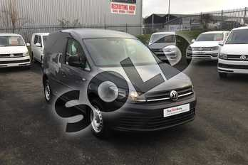 Volkswagen Caddy C20 Petrol 1.2 TSI BlueMotion Tech 84PS Startline Van in Pure Grey  at Listers Volkswagen Van Centre Worcestershire
