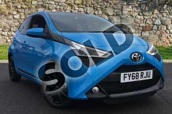 Toyota AYGO 1.0 VVT-i X-Press 5dr in Cyan Splash at Listers Toyota Boston