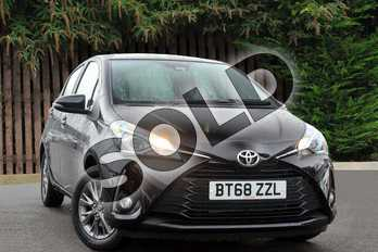 Toyota Yaris 1.5 VVT-i Icon 5dr in Eclipse Black at Listers Toyota Coventry