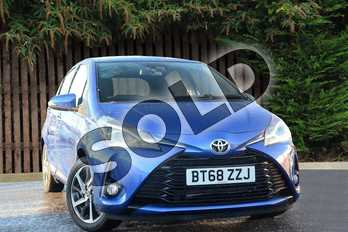 Toyota Yaris 1.5 VVT-i Excel 5dr in Nebula Blue at Listers Toyota Coventry