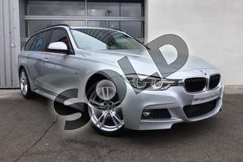 BMW 3 Series Diesel Touring 320d xDrive M Sport 5dr Step Auto in Glacier Silver at Listers King's Lynn (BMW)