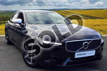 Volvo S90 Diesel 2.0 D4 R DESIGN 4dr Geartronic in 717 Onyx Black at Listers Volvo Worcester