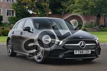 Mercedes-Benz A Class Diesel A180d AMG Line Executive 5dr Auto in Cosmos Black Metallic at Mercedes-Benz of Lincoln