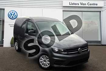 Volkswagen Caddy C20 Diesel 2.0 TDI BlueMotion Tech 102PS Trendline Van in Indium Grey Metallic at Listers Volkswagen Van Centre Coventry