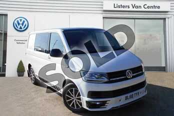 Volkswagen Transporter T30 SWB Diesel 2.0 TDI BMT 150 Edition Kombi Van DSG in Candy White  at Listers Volkswagen Van Centre Coventry