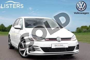 Volkswagen Golf 2.0 TSI 245 GTI Performance 5dr in Pure White at Listers Volkswagen Leamington Spa