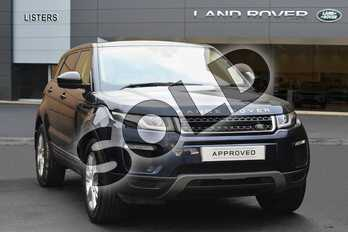 Range Rover Evoque Diesel 2.0 TD4 SE Tech 5dr Auto in Loire Blue at Listers Land Rover Droitwich