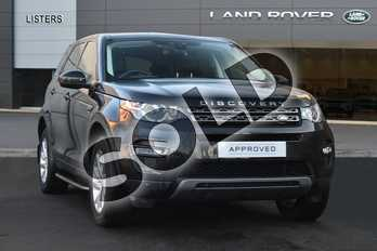 Land Rover Discovery Sport Diesel SW 2.0 TD4 180 SE Tech 5dr Auto in Santorini Black at Listers Land Rover Droitwich