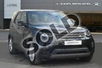 Land Rover Discovery Diesel SW 3.0 TD6 SE 5dr Auto in Santorini Black at Listers Land Rover Droitwich