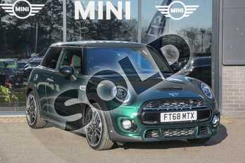 MINI Hatchback 2.0 Cooper S Sport II 3dr Auto in British Racing Green at Listers Boston (MINI)