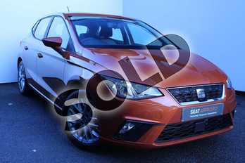 SEAT Ibiza 1.0 SE Technology (EZ) 5dr in Orange at Listers SEAT Worcester
