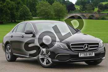 Mercedes-Benz E Class Diesel E220d SE 4dr 9G-Tronic in obsidian black metallic at Mercedes-Benz of Boston