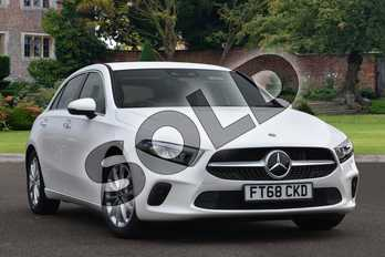 Mercedes-Benz A Class Diesel A180d Sport Executive 5dr Auto in Polar White at Mercedes-Benz of Lincoln