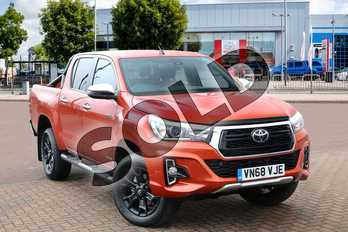 Toyota Hilux Special Editions Invincible X Ltd Edn D/Cab Pick Up 2.4 D-4D Auto in Burnt Orange at Listers Toyota Cheltenham