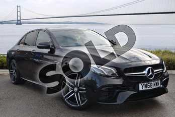 Mercedes-Benz E Class AMG E63 4Matic+ 4dr 9G-Tronic in obsidian black metallic at Mercedes-Benz of Hull