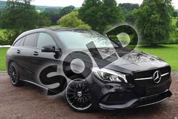 Mercedes-Benz CLA Class Diesel Shooting Brake CLA 220d AMG Line Night Edition 5dr Tip Auto in Cosmos Black Metallic at Mercedes-Benz of Grimsby
