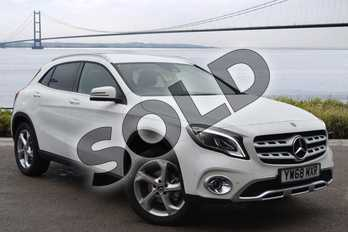 Mercedes-Benz GLA Class Diesel GLA 200d 4Matic Sport Premium 5dr Auto in Polar White at Mercedes-Benz of Hull