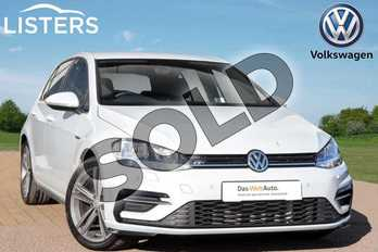 Volkswagen Golf Diesel 2.0 TDI R-Line 5dr DSG in White Silver at Listers Volkswagen Loughborough