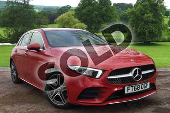 Mercedes-Benz A Class A180 AMG Line Premium 5dr Auto in Jupiter Red at Mercedes-Benz of Grimsby