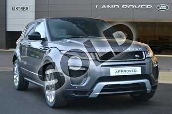 Range Rover Evoque Diesel 2.0 TD4 HSE Dynamic 5dr Auto in Corris Grey at Listers Land Rover Hereford