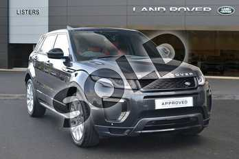 Range Rover Evoque Diesel 2.0 TD4 HSE Dynamic 5dr Auto in Carpathian Grey at Listers Land Rover Hereford