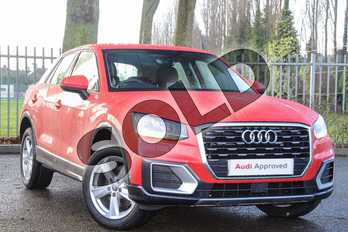 Audi Q2 30 TFSI Sport 5dr S Tronic in Tango Red Metallic at Coventry Audi