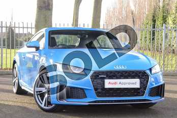 Audi TT 45 TFSI Quattro S Line 2dr S Tronic in Turbo Blue at Coventry Audi