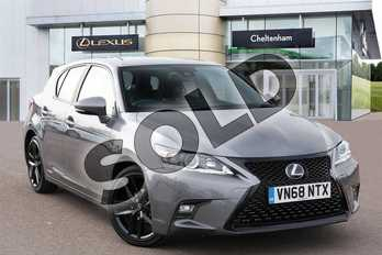 Lexus CT 200h 1.8 5dr CVT (Sport Pack) in Mercury Grey at Lexus Cheltenham