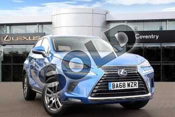 Lexus NX 300h 2.5 5dr CVT (Premium pack leather) in Sky Blue at Lexus Coventry