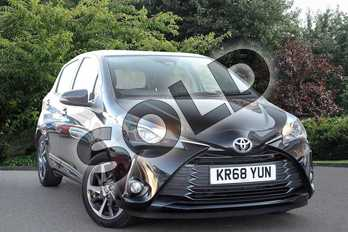 Toyota Yaris 1.5 VVT-i Y20 5dr in Black at Listers Toyota Nuneaton