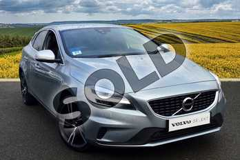 Volvo V40 T3 (152) R DESIGN Pro 5dr in 477 Electric Silver at Listers Volvo Worcester