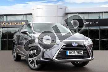 Lexus RX 450h L 3.5 5dr CVT (Premium pack + Sun roof) in Mercury Grey at Lexus Coventry