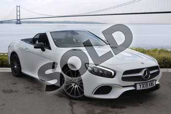 Mercedes-Benz SL Class Convertible SL 400 AMG Line 2dr 9G-Tronic in Polar White at Mercedes-Benz of Hull