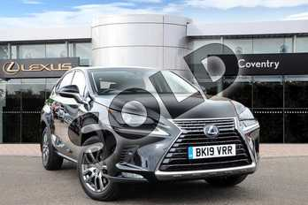 Lexus NX 300h 2.5 5dr CVT (Premium pack pan roof) in Graphite Black at Lexus Coventry