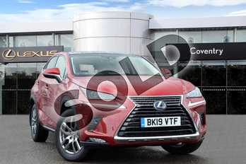 Lexus NX 300h 2.5 5dr CVT (Premium pack pan roof) in Mesa Red at Lexus Coventry