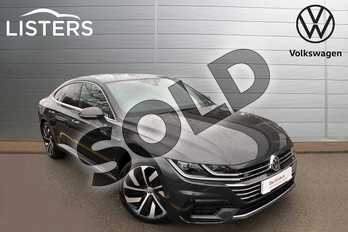 Volkswagen Arteon Diesel Fastback 2.0 TDI 190 R Line 5dr 4MOTION DSG in Manganese Grey at Listers Volkswagen Nuneaton