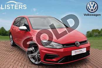 Volkswagen Golf 2.0 TSI 300 R 5dr 4MOTION DSG in Tornado Red at Listers Volkswagen Worcester