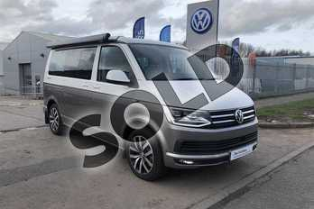 Volkswagen California Ocean 2.0 TDI 204PS EU6 BMT DSG in Candy White Metallic Two Tone at Listers Volkswagen Van Centre Worcestershire